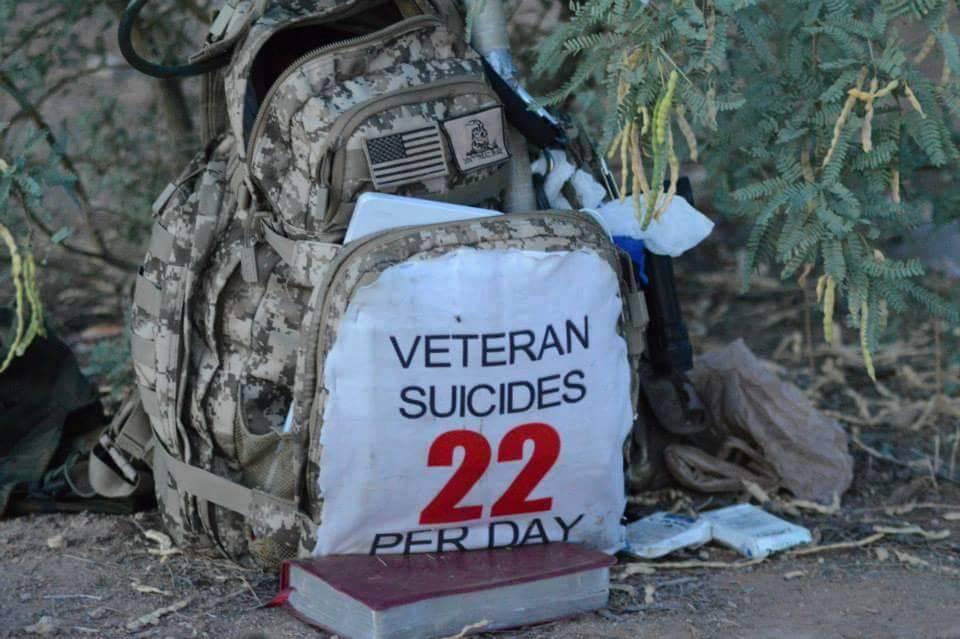 22 suicides per day